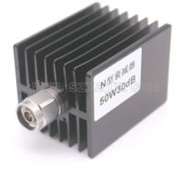 JX High Power RF Attenuator N Male To N Female 50W DC 3G XDB X 30DB