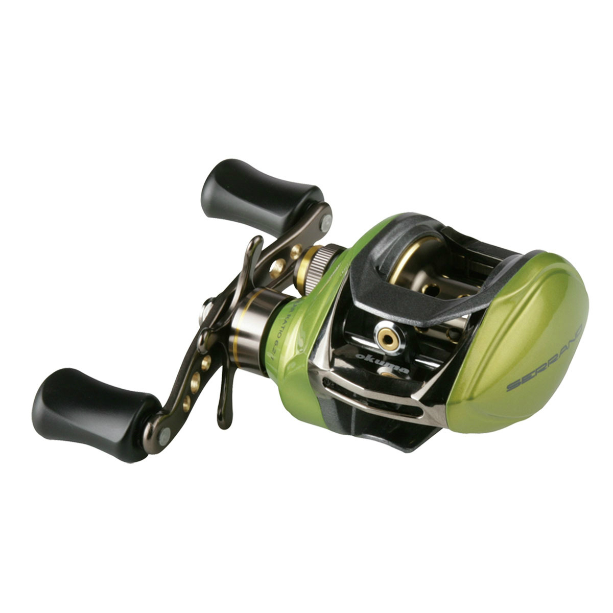 Okuma SR200II Fishing Gear Baitcasting Reel Deep/Shallow