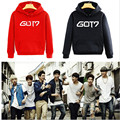 2015 hip hop new style Got7 Jackson mens autumn winter high fashion brand Hoodies fleece sportswear sweatshirt Hooded hat