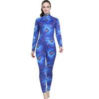 0cf8433d7 2018 Wetsuit Women Zipper Swimsuit Full Body Jumpsuits Diving Suit Rash  Guard Wetsuits For Swimming Surfing