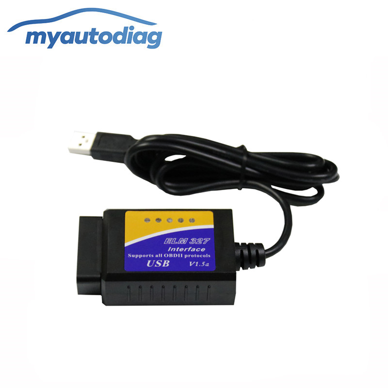 <font><b>USB</b></font> <font><b>ELM327</b></font> V1.5 OBD2 Code Reader mit <font><b>PIC18F25K80</b></font> Chip ULME 327 Adapter Arbeiten auf Android Windows Phone image