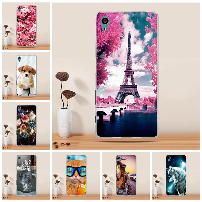 <font><b>Case</b></font> for <font><b>Sony</b></font> <font><b>Xperia</b></font> <font><b>Z5</b></font> E6003 E6633 <font><b>E6653</b></font> E6683 <font><b>Case</b></font> Silicon Cover for <font><b>Sony</b></font> <font><b>Xperia</b></font> <font><b>Z5</b></font> Dual Phone <font><b>Case</b></font> For <font><b>Sony</b></font> <font><b>Z5</b></font> Cover funda image