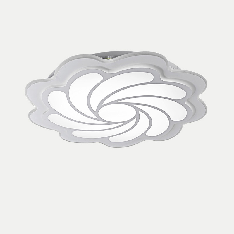 White Acrylic Lamp Modern Led Ceiling Lights With Remote Control Living Room Bedroom Kitchen Decor Home Lighting Fixtures 220V round led ceiling light white modern acrylic ceiling lamp dimmable with remote control for kids bedroom lighting fixtures