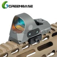 Greenbase 3 MOA Mini Red Dot Sight Airsoft Reflex Sight 1x25 Reticle Red Dot Scope W / QD Mount Hunting Scope For 20mm Rail Base
