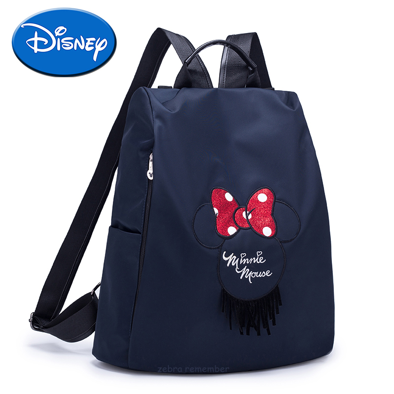 Sac à couches Disney Disney pour maman   Sacs de poussette en cuir pour bébé, sac à dos de voyage Mickey Minnie Mouse