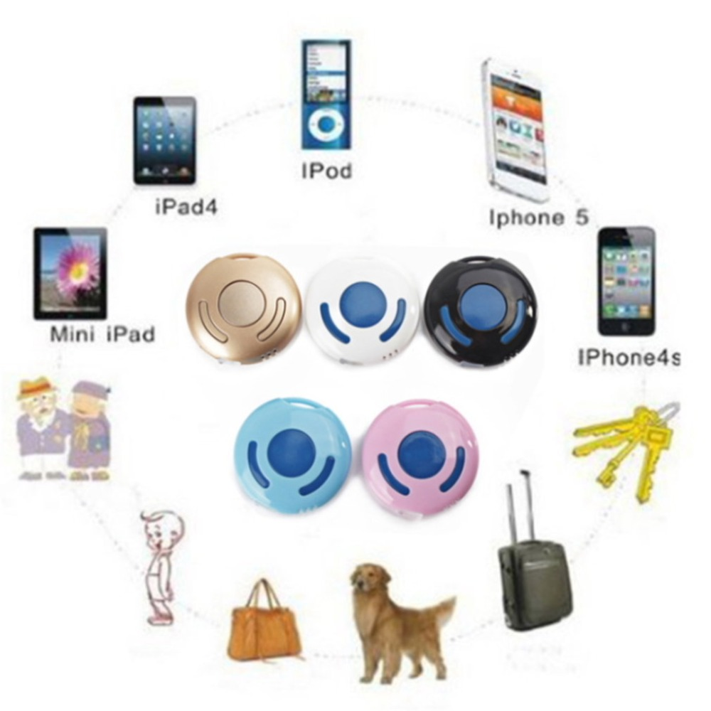 Mini Anti-lost Key Chain Finder Bluetooth 4.0 Anti-lost alarm With Micro USB Charger For iPhone5 for iPhone4s for iPad wireless bluetooth v4 0 anti lost alarm for iphone 4 4s 5 ipad more plastic