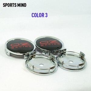 Image 5 - Колпачки центральной ступицы автомобильных колес, 4 шт./лот 75 мм, эмблема гоночного колеса OZ, аксессуары для стайлинга автомобиля