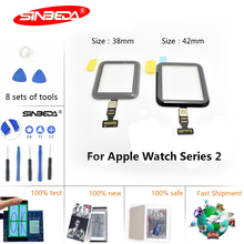 Sinbeda For Apple Watch Series 2 38mm 42mm Touch Screen Panel Glass Digitizer for
