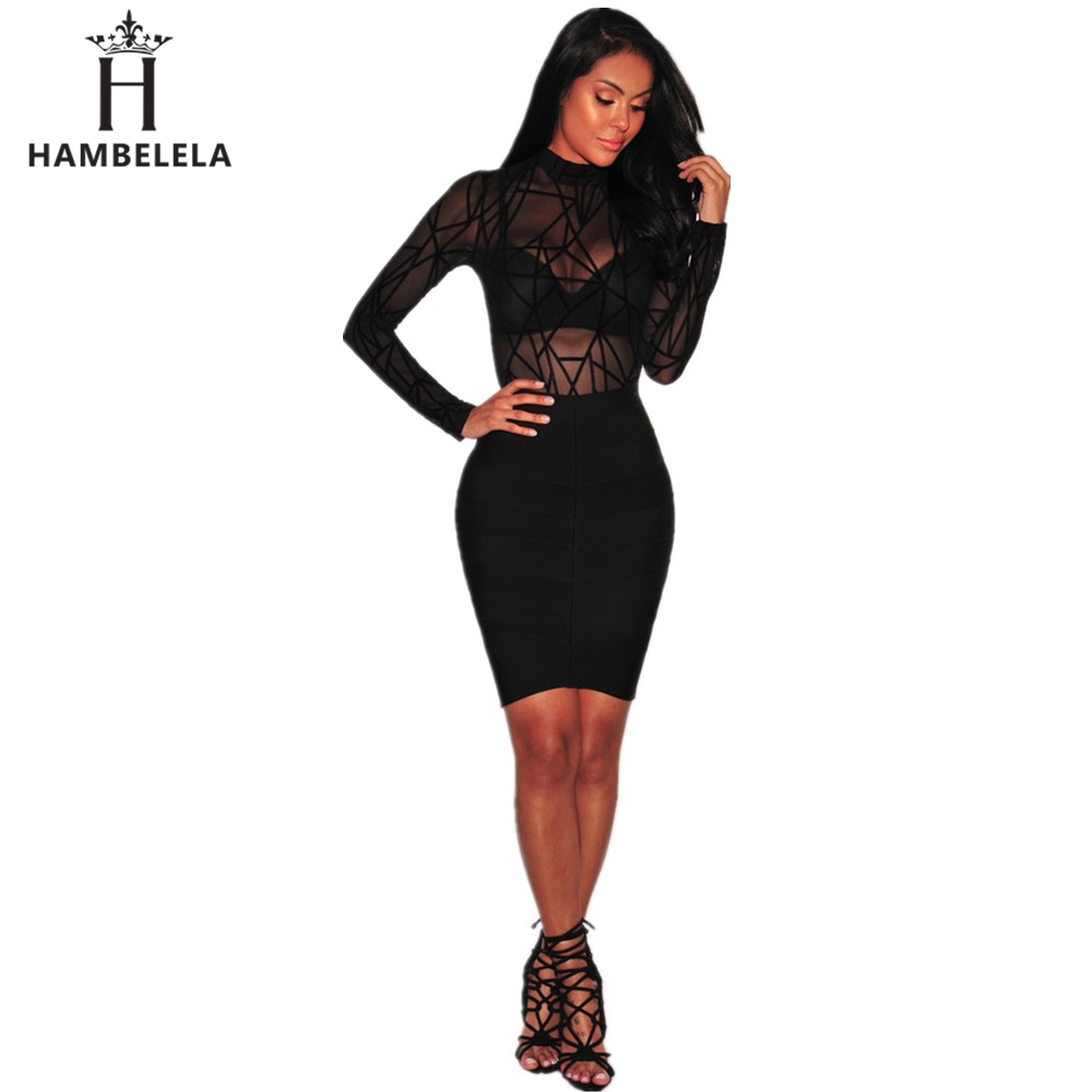 HAMBELELA 2018 New Hot Sale Summer Women Jumpsuit Long Sleeve O-Neck Top Rompers For Women Bodysuit Bandage Sexy Jumpsuit