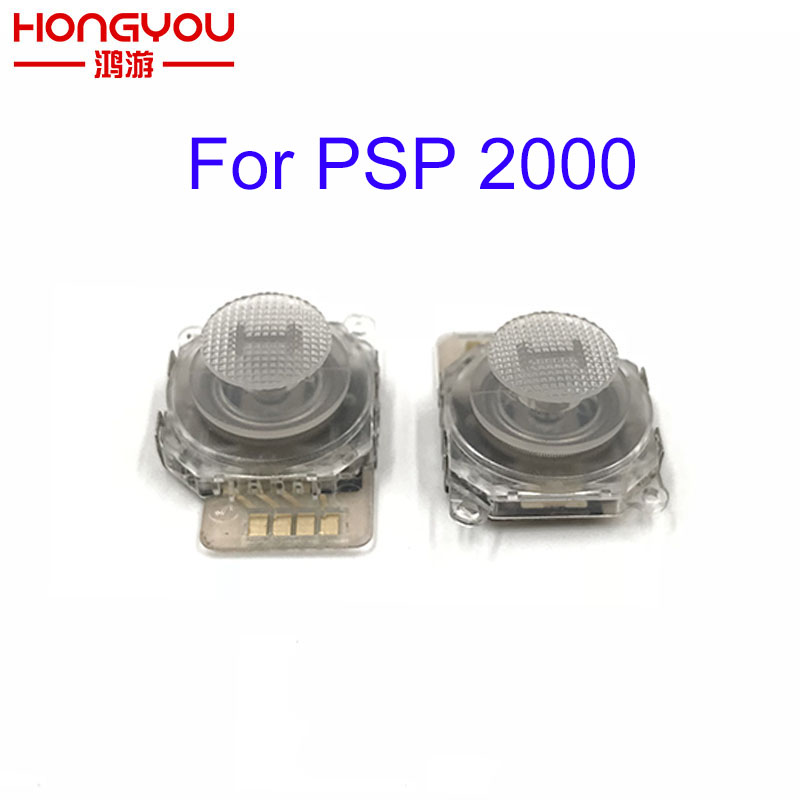 30pcs Transparent 3D Analog Joystick Stick Button Sensor Module for PSP 2000 PSP 2000 PSP 2000