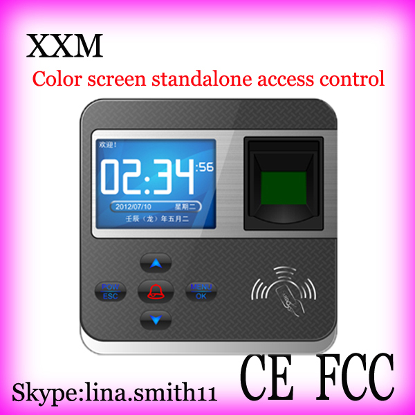 камера 211 F211 fingerprint access control with TCP/IP color screen