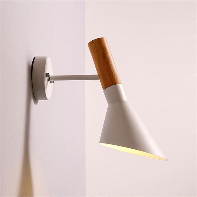 Nordic Modernen Weiß Schwarz Flexible LED Wandleuchte ...