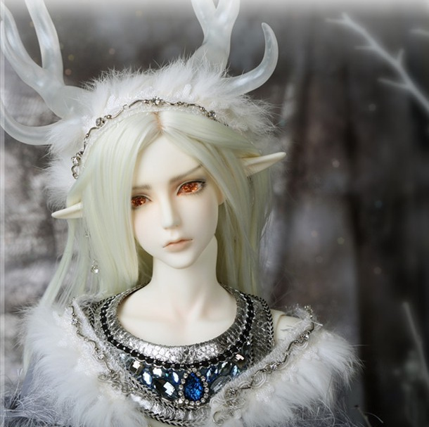 1/3 scale about 65cm BJD nude doll Benmore  recast BJD doll Boy with face up.not included clothes; wig;shoes and accessories