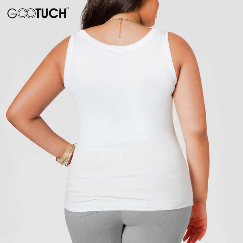 13ba1afe7f048 ... Womens Cotton Tank Tops Plus Size 4XL 5XL 6XL Women s Sleeveless T  Shirt Large Size Undershirt ...