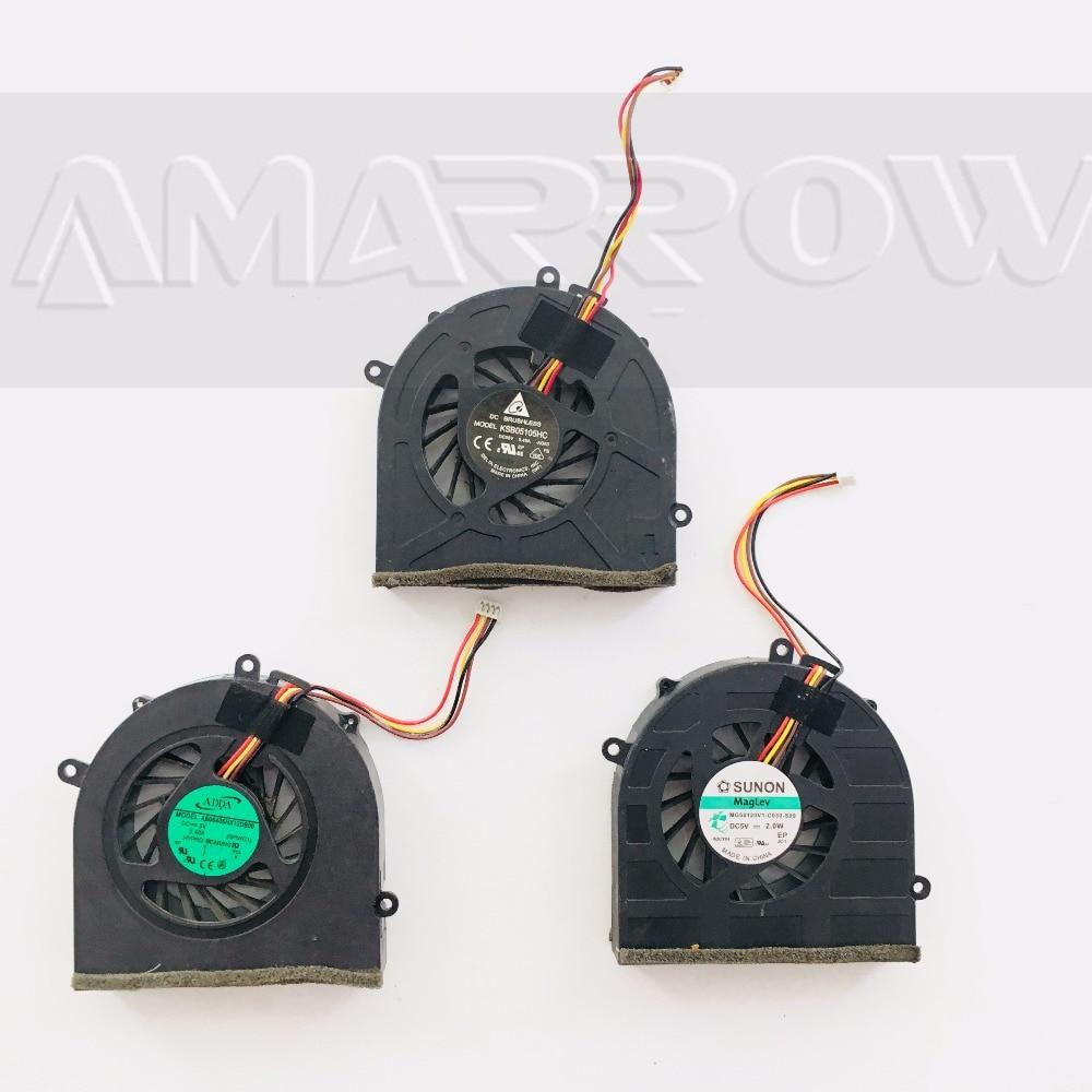 Original laptop cpu cooling fan for LENOVO G570 G470 G470A G470AH G570 G475 KSB05105HC MG60120V1-C030-S99 AB06405HX12DB00
