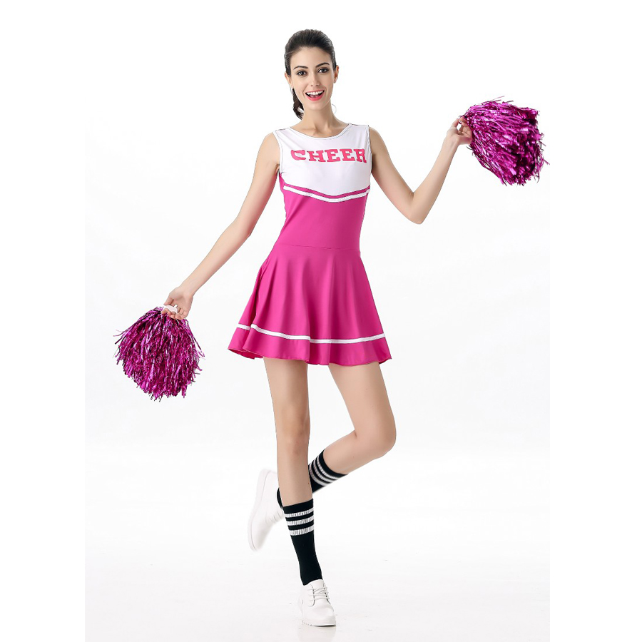 6 Color Fashion Sexy Cheerleader Costume Women Adult -9813