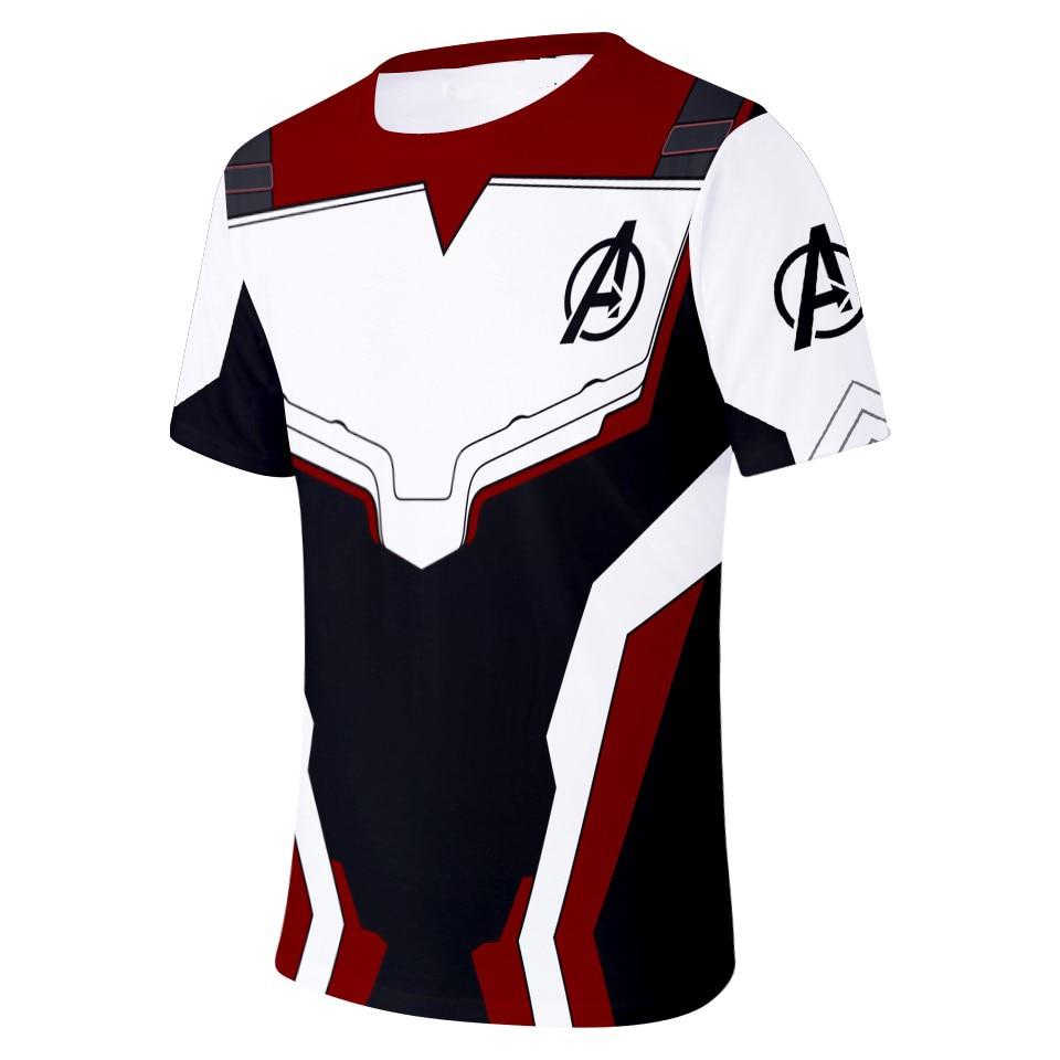 Avengers 4 Endgame 3D Print Men//Women Kids Summer T-shirt Short Sleeve Tee Tops