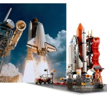 GUDI 8815 679Pcs Star Wars City Super Hero The Shuttle Launch Center Minifigure set Plane Aircraft Compatible with Legoe