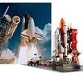 Gudi 8815 679 unids star wars city super hero el centro de lanzamiento del transbordador set avión aviones