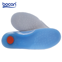 Bocan insoles Sports Shoes Pad Sweat Absorbing Shock Absorption Breathable Comfortable for Men and Women's Leather shoes Insoles