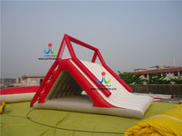 Hot Sale Lake Inflatable Water Slides And Water Slides For Sale