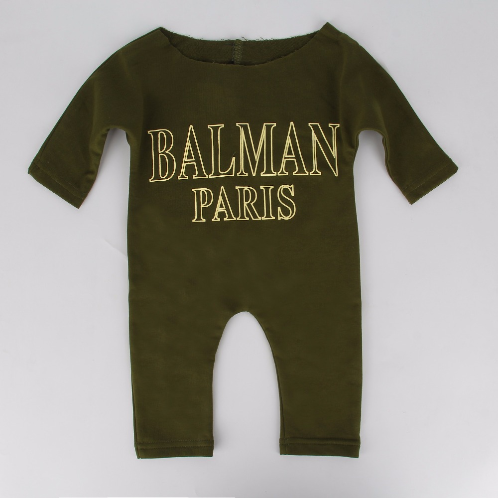 Newborn Infant Baby Boys Girl Kids Clothes Cotton Rompers Jumpsuit