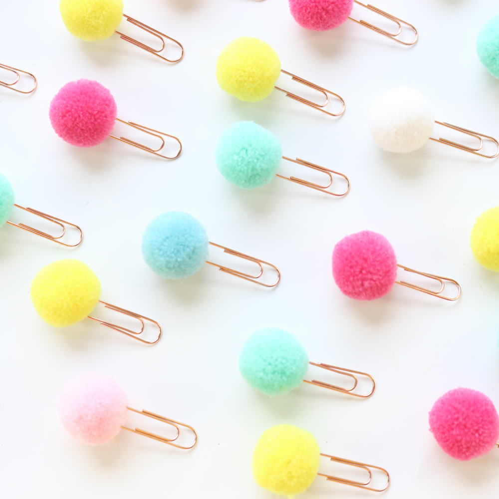 Domikee Candy Creative Metal Office School Paper Clips Set Stationery Supplies,cute Kawaii Student Index Bookmark Clamp Set,2pcs