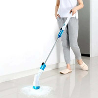 Multi functional Turbo Scrub Electric Hurricane Rotary Power Scrubber Tub Tile Cordless Rechargeable Household Cleaning Brush