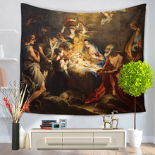 RUBIHOME Hanging Wall Tapestry 3D Design Christ Goddess Home Decor Beach  Towel Throw Rug Blanket Camping 97ac2a159a2c