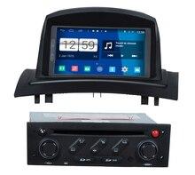 S160 Quad Core Android 4.4.4 audio del coche PARA RENAULT Megane II/Fluence coches reproductor de dvd del coche dispositivo multimedia estéreo del coche
