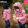 2016 Fashion Girl winter down Coats Jackets Children Coats warm baby 100% thick duck Down Kids Outerwears jacket