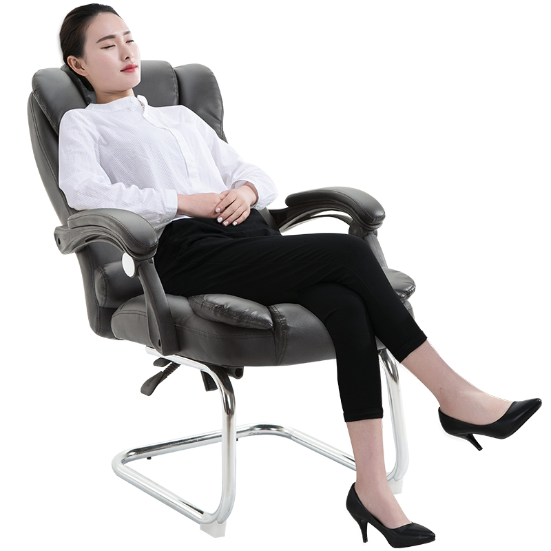 Home Office Chair Computer Gaming Chair Bow Foot Boss Seat Cadeira With Massage Function Silla Oficina Cadeira Gamer Boss Chaise