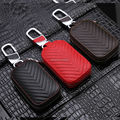 Genuine Leather Car Key Case Wallets for Opel Astra h g j gtc