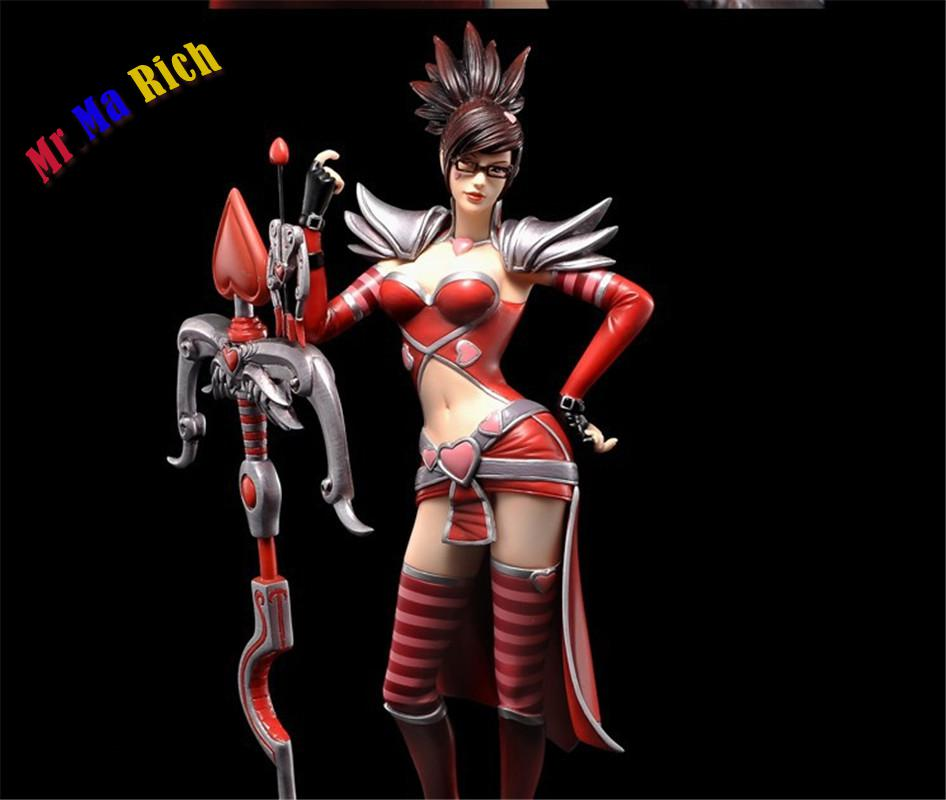 23cm Sports Game Dolls Lol Shauna Vayne Vn Yasuo Zed Play Arts Model Pvc Toy Action Figure Decoration For Collection Gift