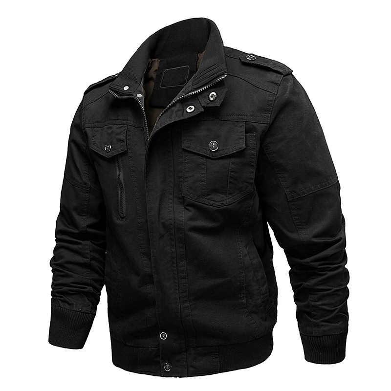 MAGCOMSEN мужские куртки-бомберы зима хлопок повседневное Военная Униформа армейская куртка Винтаж пилот брюки карго пальто для будущих мам ветровка д
