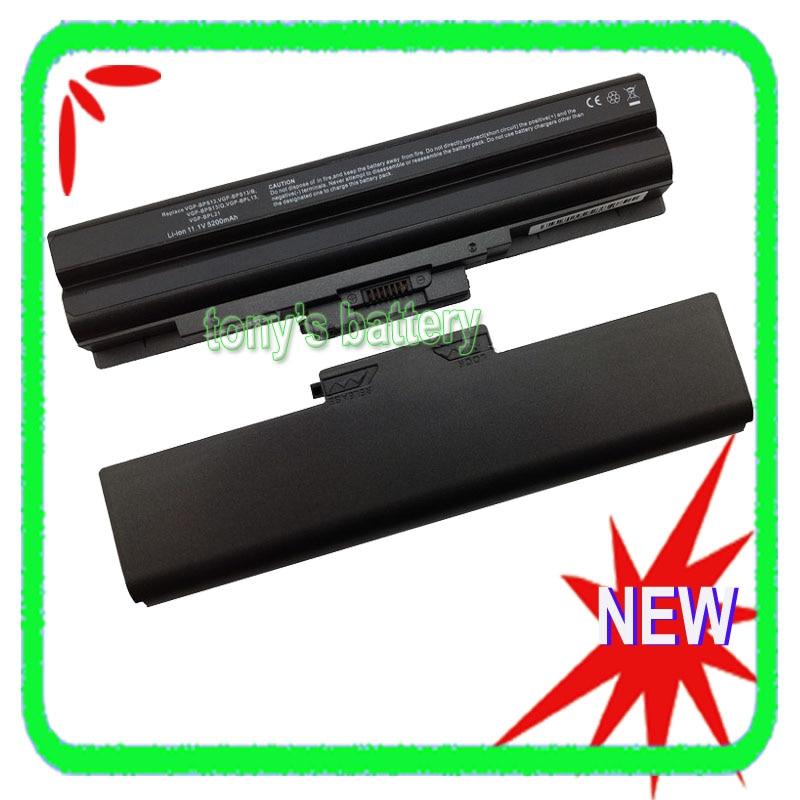 New Battery for Sony Vaio VGP-BPS13A/B VGP-BPS13B/Q VGP-BPS13A/Q VGP-BPS21 VGP-BPS21B VGN-SR45H VGN-CS VGN-FW PCG-7182 Black sony cdx g1100u q
