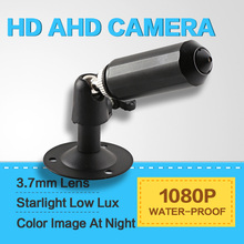 Analog Mini HD de 2.0MP 1080 P AHD Bullet Cámara Impermeable Starlight 0.0001Lux Baja Lux Día/Noche Color de la Imagen