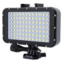 Gopyks Ультра-яркий 1800LM Фото Студийный видео свет лампы 3 режима 5500 К светодио дный Дайвинг заполнить света для GoPro Xiaomi Yi SJCAM Камера