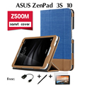 For ASUS ZenPad 3s 10 holster Z500M case 9.7 inch tablet cladding New Litchi PU Leather Case Stand Slim Cover 4 in 1