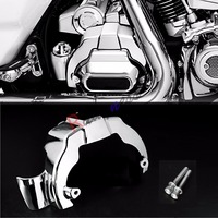 Chrome Transmission Shroud Covers For Harley Touring Street Glide Road King FLHX FLHR 2017 2018