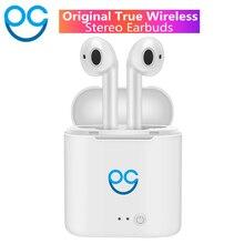 OGV I7s TWS мини двойное ухо беспроводной Bluetooth наушники гарнитуры для Iphone Android