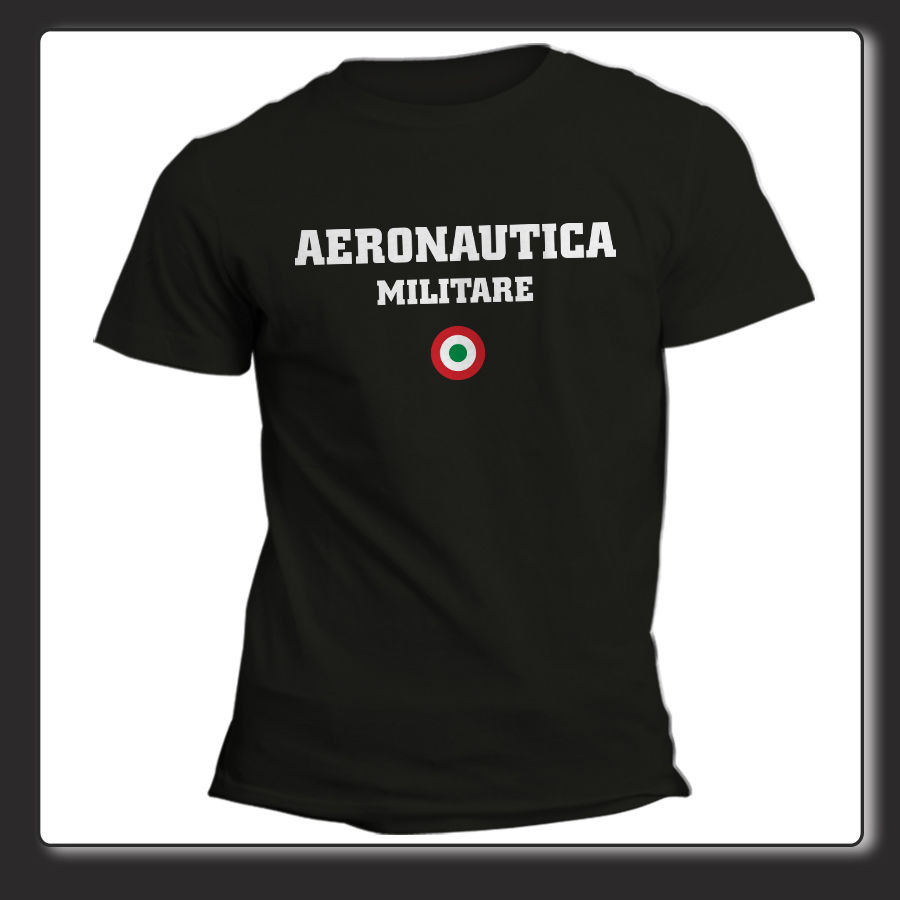 best service e5789 1cb8e US $12.34 5% OFF|Men 2019 Summer Round Neck Fashion Uomo Donna Aero  Militare Logo Italia Freccie Tricolori Replica Cheap Custom T Shirts-in  T-Shirts ...