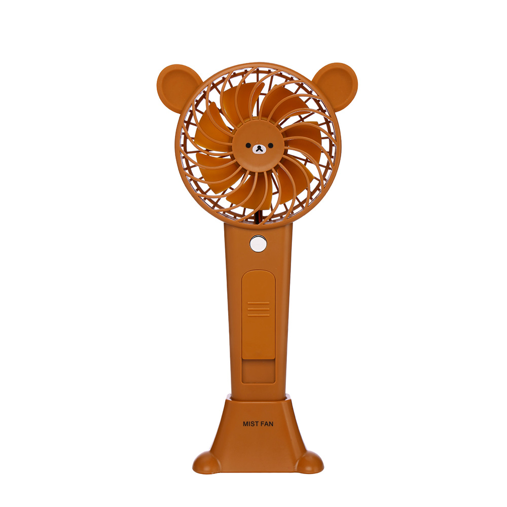 Water Mist Fan Rechargeable Misting Humidifier Fans Humidifer Spraying Powerful cooling Fan Office Desktop Mobile Power Ventilad handheld usb misting fan personal cooling humidifier portable mini desktop fans