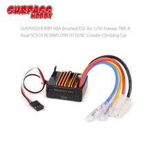 60A Brushed ESC with 5V/2A BEC Tamiya Plug for HSP HPI Kyosho TRAXXAS 1/10 RC Crawler Off-road Climbing Car