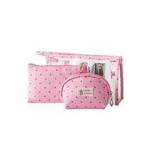 3pcs/set Multi-function Transparent PVC Cosmetic Bag Travel Portable Large Capacity Washing Bag Hand-held storage bag more convenient hand held portable multi colour sense 3d scanner