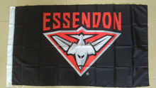 Essendon Bombers Flag 150X90CM AFL 3X5FT Banner 100D Polyester grommets custom009, free shipping