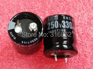 Free Shipping 250V330UF 250V 330UF SIZE 22*30 electrolytic ORIGINAL100% 10PCS/LOT Electronic Components kit