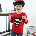 Hot sale Superman Sweaters Kids Hedging high Quality Boys And Girls Sweater knitted 1-9 years Children'S Sweater, Boys' Sweaters