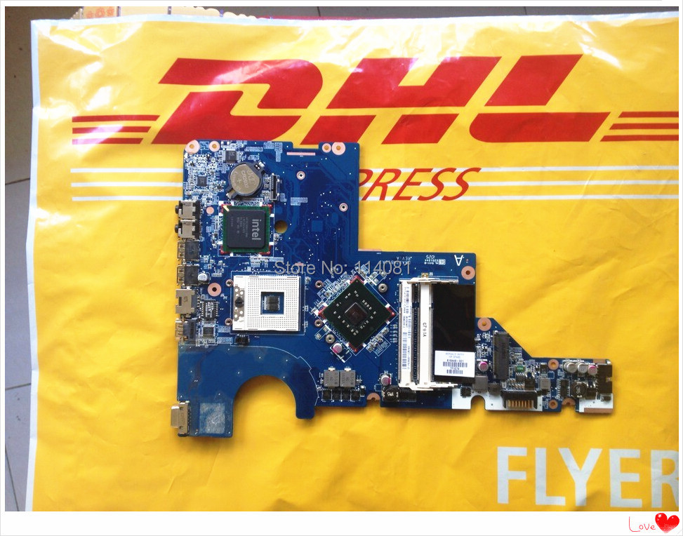 ФОТО 616449-001 system motherboard Suitable for hp g62 laptop mainboard 31AX3MB0050/DAAX3MB16A1 professional wholesale Free shipping