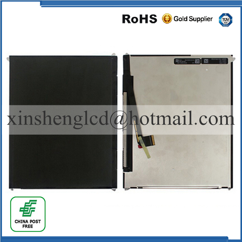 Free shipping Replacement lcd screen For ipad3 ipad4 The New ipad display screen 100% guarantee